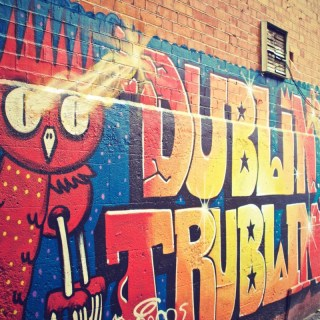 Dublin art graffiti