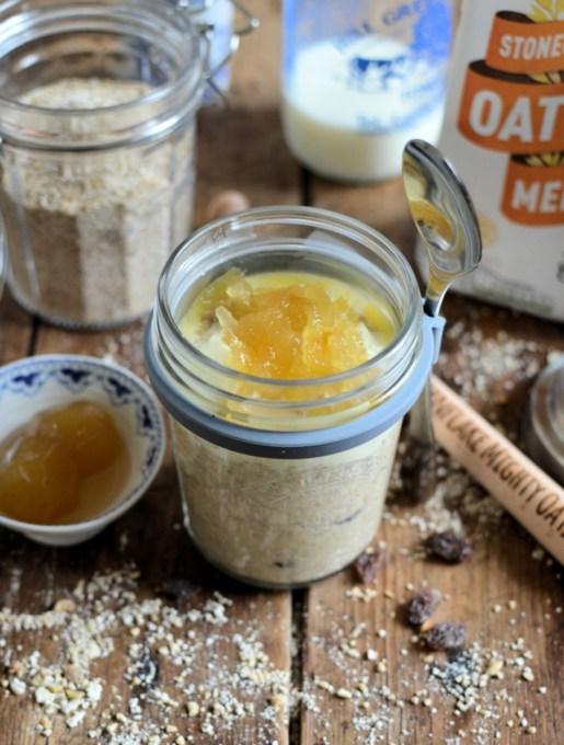 Gingerbread/Ginger Parkin style porridge