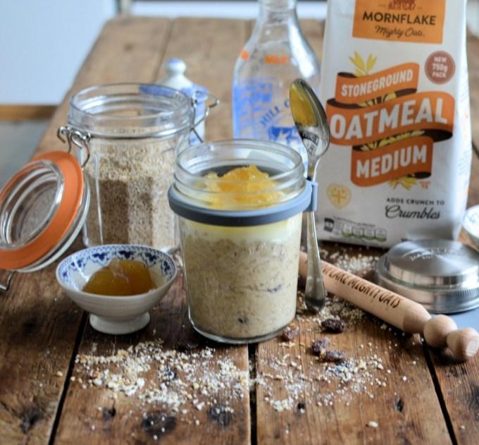 Gingerbread (Ginger Parkin) Porridge