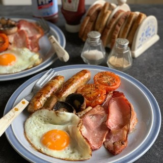 My recipe for a Simple Grilled B & B Breakfast is exactly that, an oven baked and grilled breakfast that we serve to our B & B guests when they stay with us at The Old Schoolhouse.