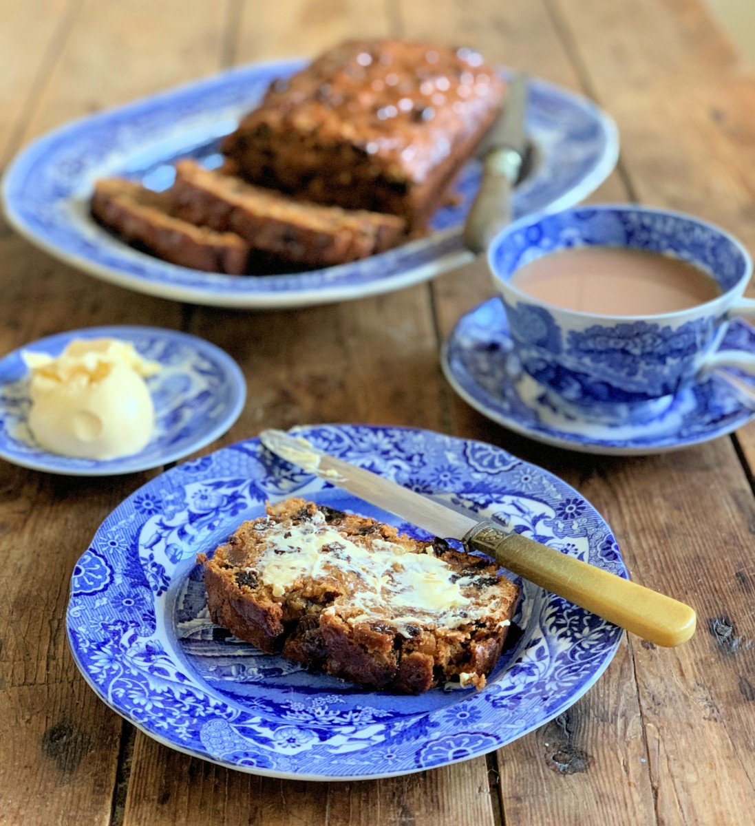 Traditional Bara Brith Tea Loaf Lavender And Lovage