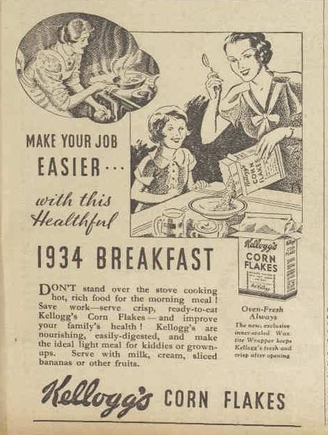 Vintage Cornflakes Poster
