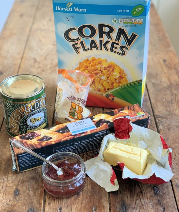 Cornflake Tart Ingredients