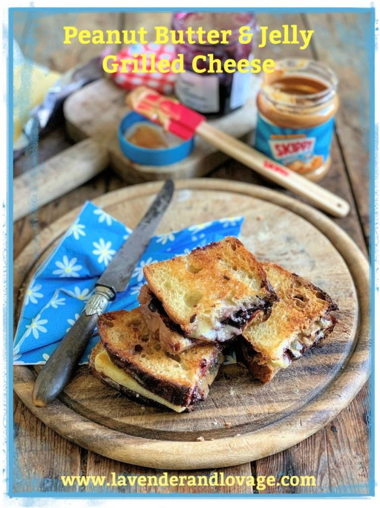 PB and Jelly Grilled Cheese