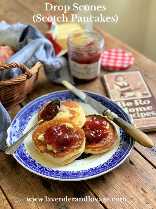 Drop Scones (Scotch Pancakes)