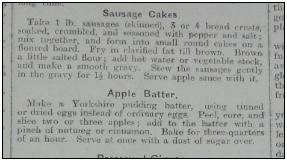 Sausage Cakes