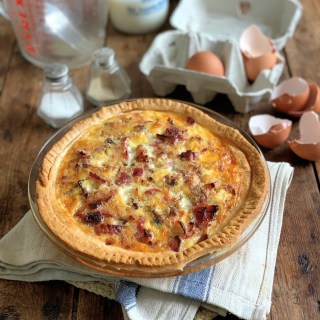 Egg & Bacon Flan