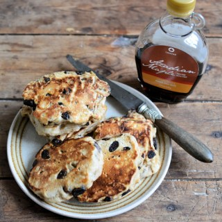 Raisin Bread Sourdough Hotcakes