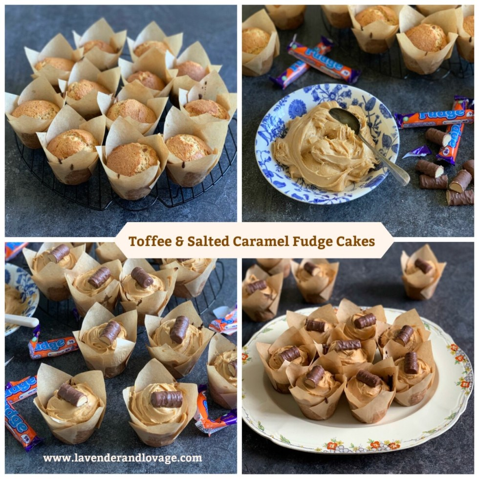 Toffee & Salted Caramel Fudge Cakes
