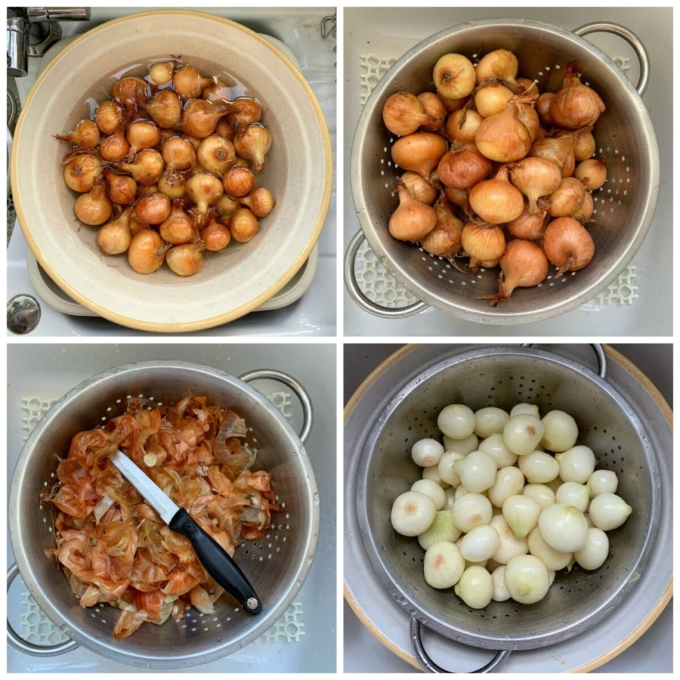 Traditional Homemade Pickled Onions