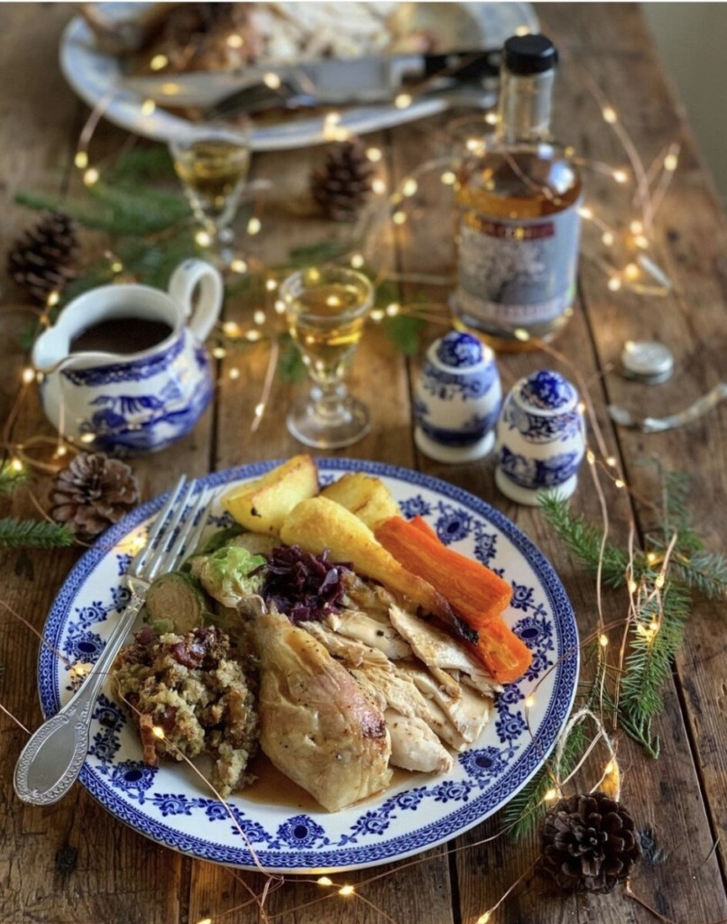 Small Roast Chicken Christmas Dinner