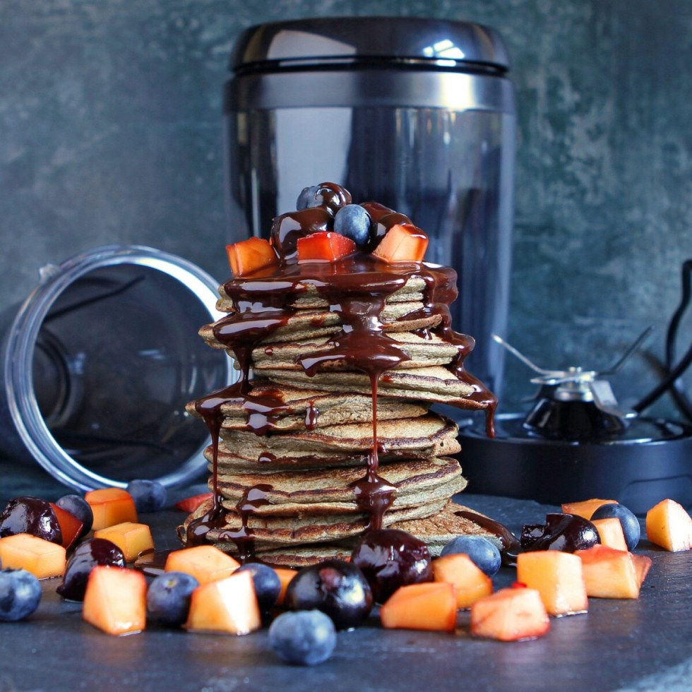 Perfect Blender Pancakes (Protein Pancakes) – without additional fruit