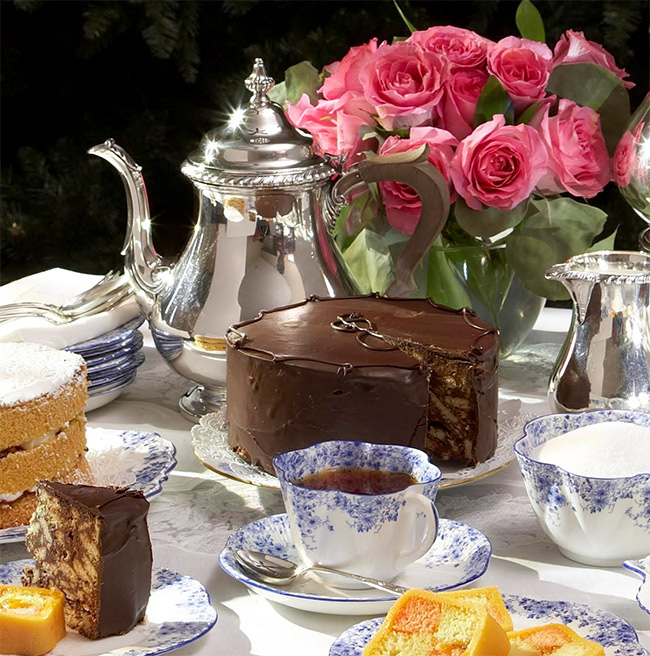 The Queen's Favourite Chocolate Biscuit Cake