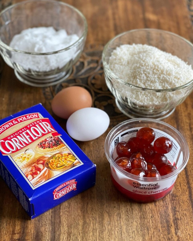 Old-Fashioned Coconut Macaroons ingredients