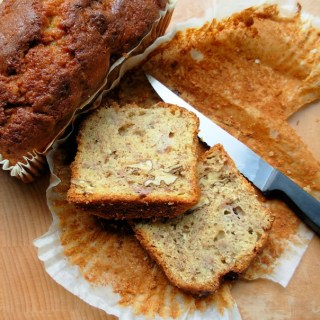 Slow Sunday ~ Banana and Walnut Tea Bread