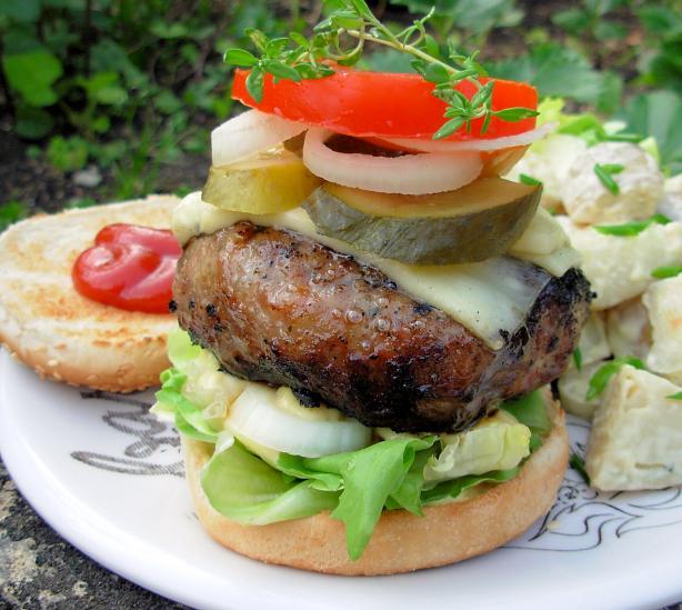 Pork Burger