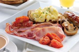 Farmhouse Breakfast Week starts Today! Featuring The Full Monty!