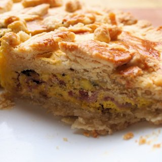 Who ate all the Pies? British Pie Week & my Farmhouse Egg and Bacon Pie