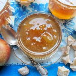 Apple & Ginger Jam and Book Review – First Preserves by Vivien Lloyd