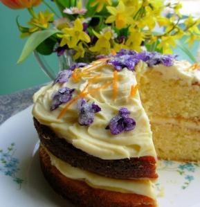 Victorian Spring Posy Cake