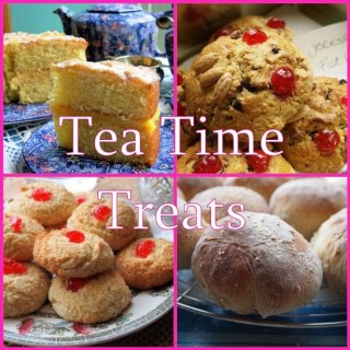 Day One on The Advent Calendar & Tea Time Treats Birthday Cake Round-Up