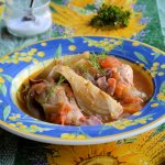 French 5:2 Diet Fast Day Recipe and Monday Meal Plan: Provençal Chicken and Fennel Braise