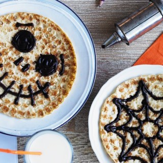 Flipping Fabulous Halloween & Bonfire Recipes + Giveaway: Win Abra-ca-Debora Dutch Pancakes!