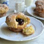 Baked Jam Doughnut Muffins