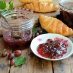 An Old Cottage Garden and Pink Gooseberry & Elderflower Jam Recipe