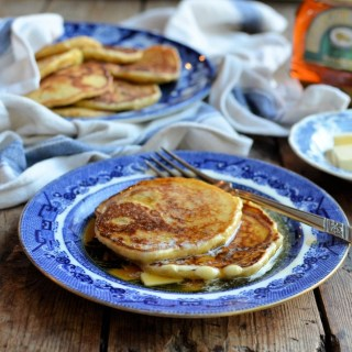 Beremeal, Golden Syrup & Orkney Pancakes