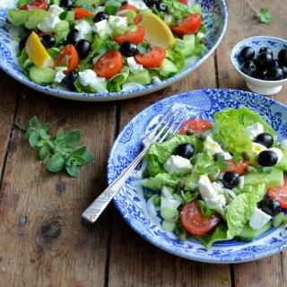 A Classic Greek Salad Recipe