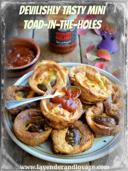 Devilishly Tasty Mini Toad-in-the-Holes