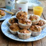 Cheese, Sweetcorn and Spring Onion Muffins