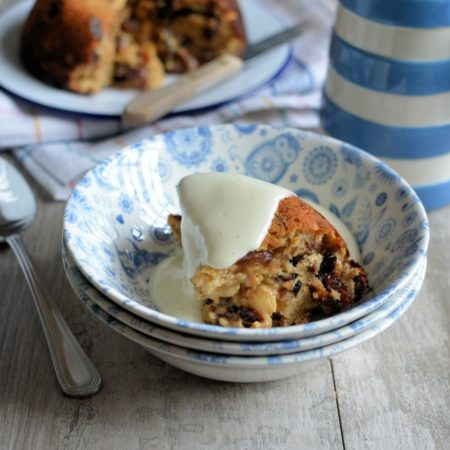 "Baked ""Cake Crumb"" Mincemeat Pudding"