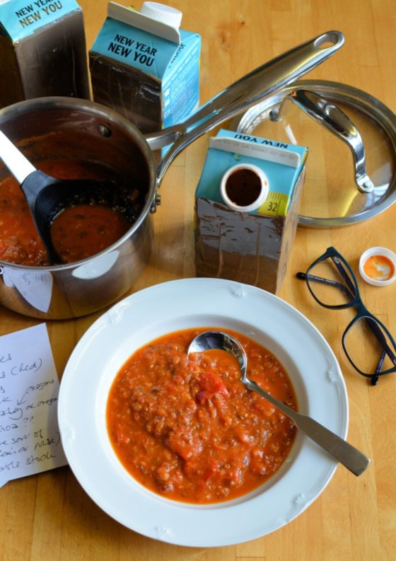 Blind Taste Test Recipe Creation with Soup!