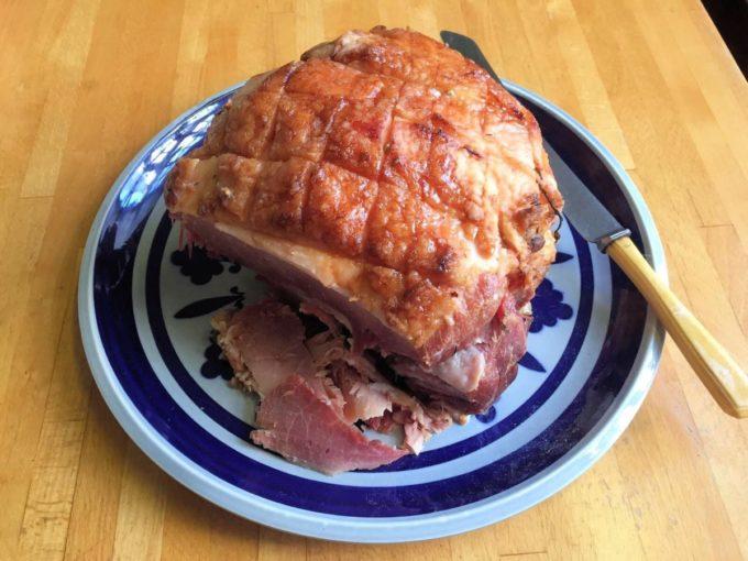 Festive Maple Syrup Spiced Ham