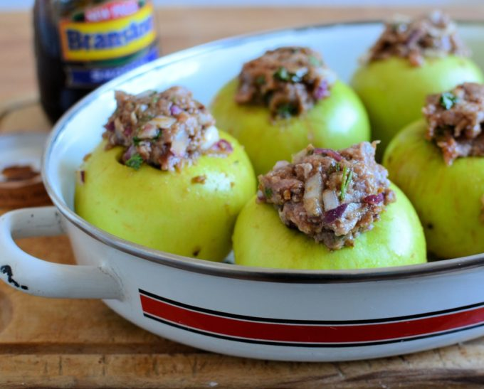 Baked Savoury Apples
