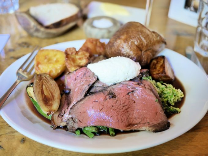 Roast Beef Red Lion Freehouse