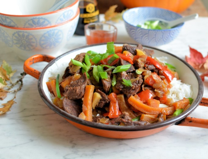 Slow or Quick Mongolian Beef