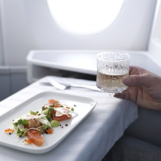 Feel Finnair Foodies Flies Business Class