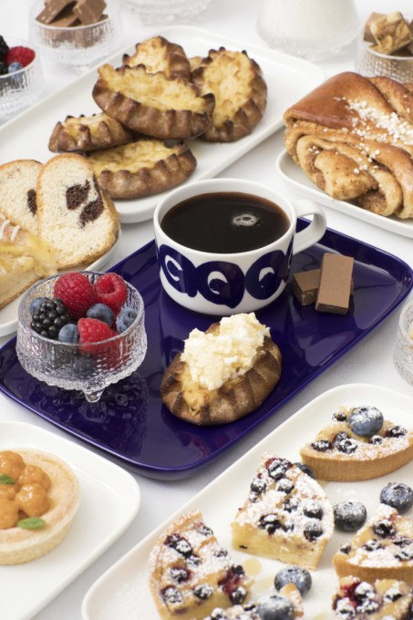 Finniar Nordic Business Class Breakfast