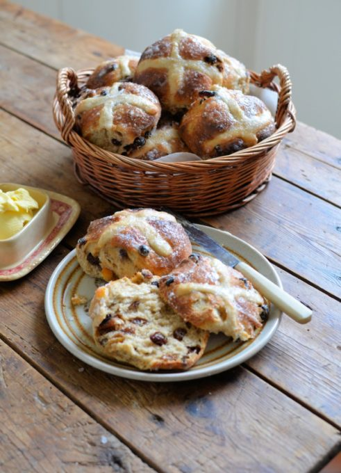 Sourdough Hot Cross Buns