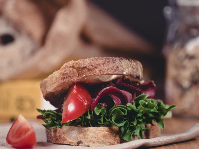 Finnish Bread Sandwich