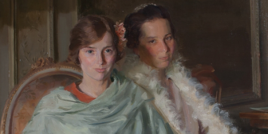 Kathleen and Rosalind by Douglas Stannus Gray