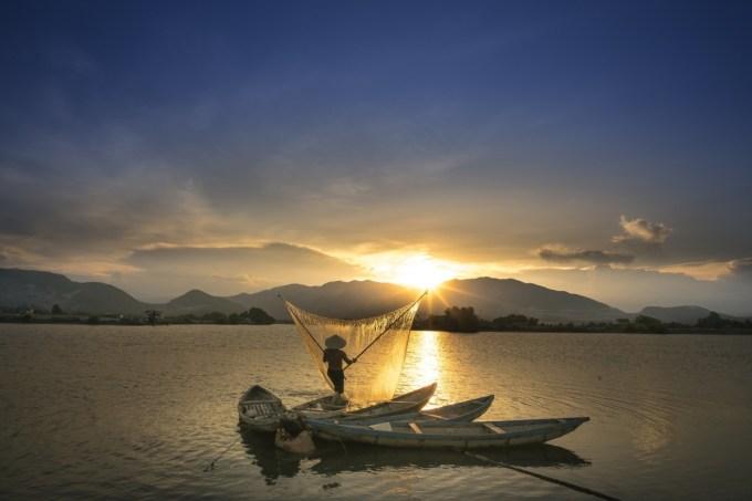 Sunset Wave Province Vietnam