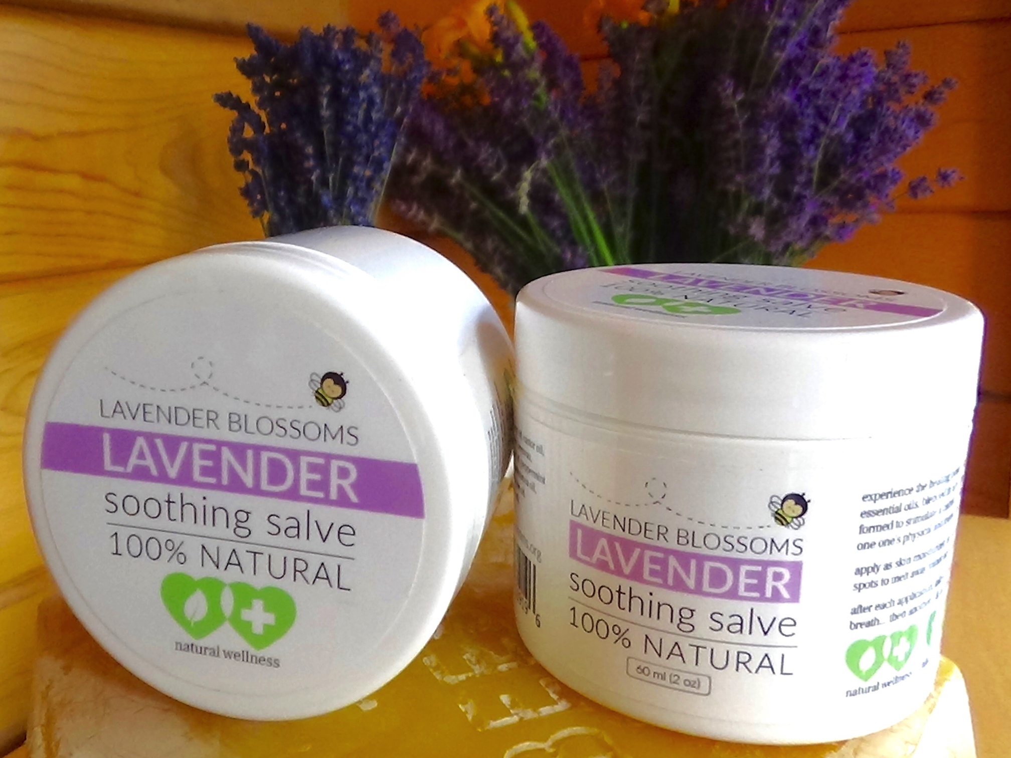 Watch How to Make Lavender Healing Salve video