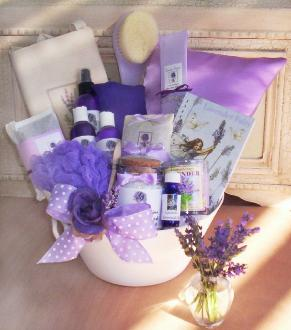 Lavender Gift BasketLoaded by Lavender Fanatic gifts