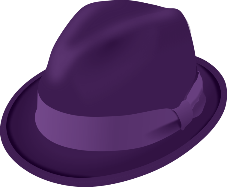 modified from: https://openclipart.org/detail/167027/trilby-hat