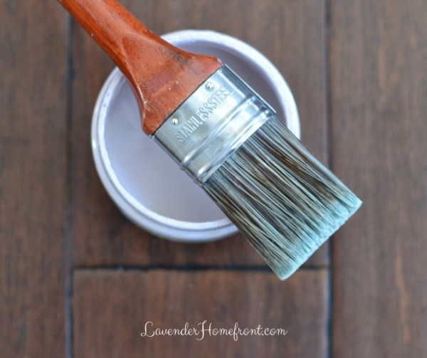 cleaning your chalk painting brushes