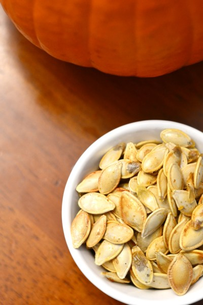how to roast your own pumpkin seeds